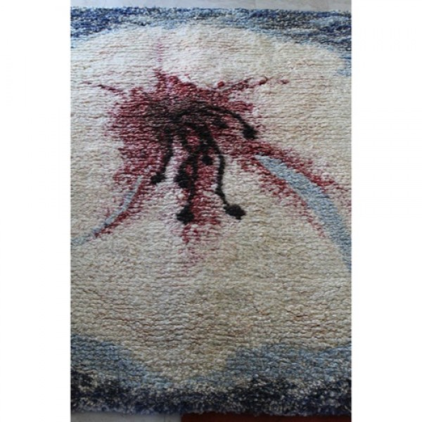 Woven_Tapestry_Rug_by_Eleen_Auvil_titled_Amaryllis slide1