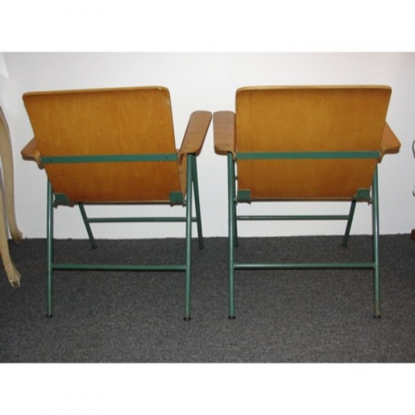 Russel_Wright_Wood_Folding_Chairs slide1