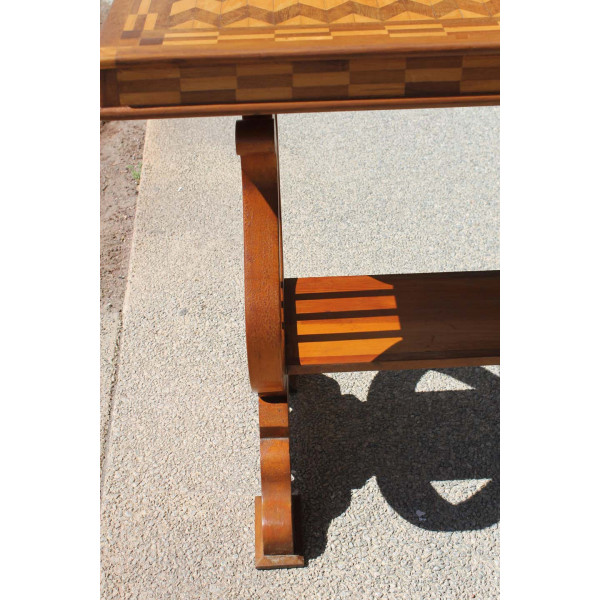Parquetry_Table_with_Harp/Lyre_Supports slide6