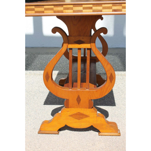 Parquetry_Table_with_Harp/Lyre_Supports slide5