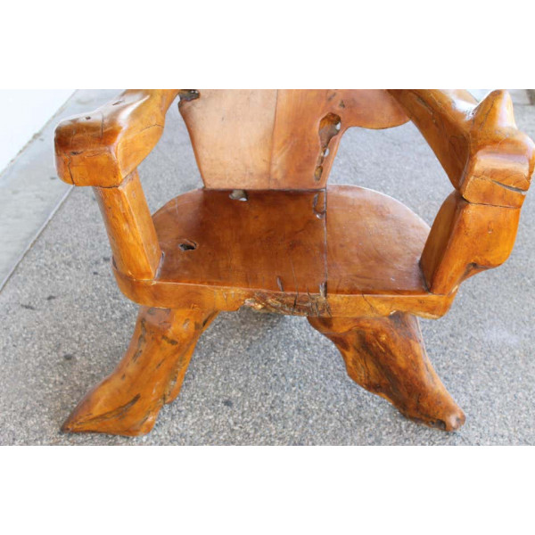 Teak_Tree_Root_Studio_Club_Chair,_1_of_2 slide3