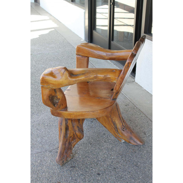 Teak_Tree_Root_Studio_Club_Chair,_1_of_2 slide1