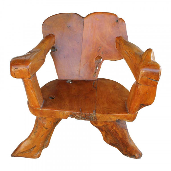 Teak_Tree_Root_Studio_Club_Chair,_1_of_2 slide0